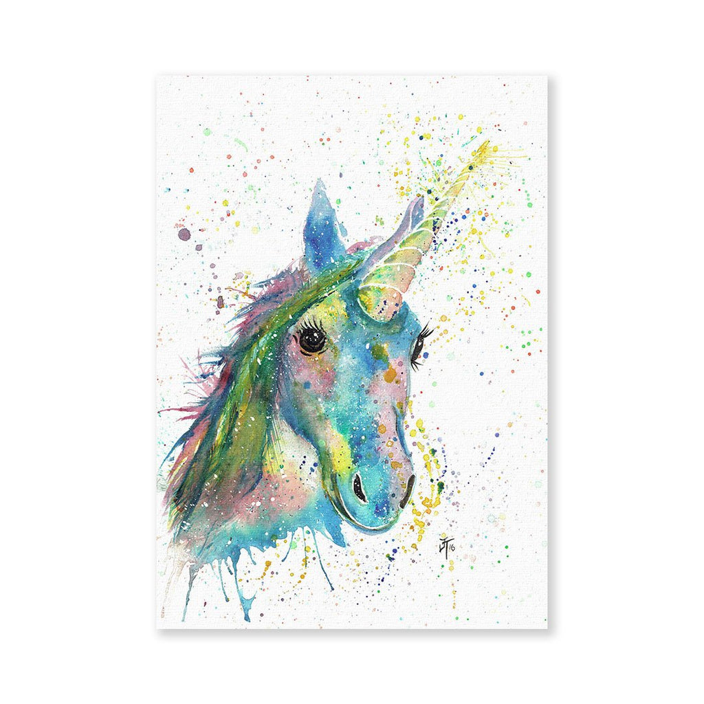 """Patty"" Unicorn Signed Fine Art Print"