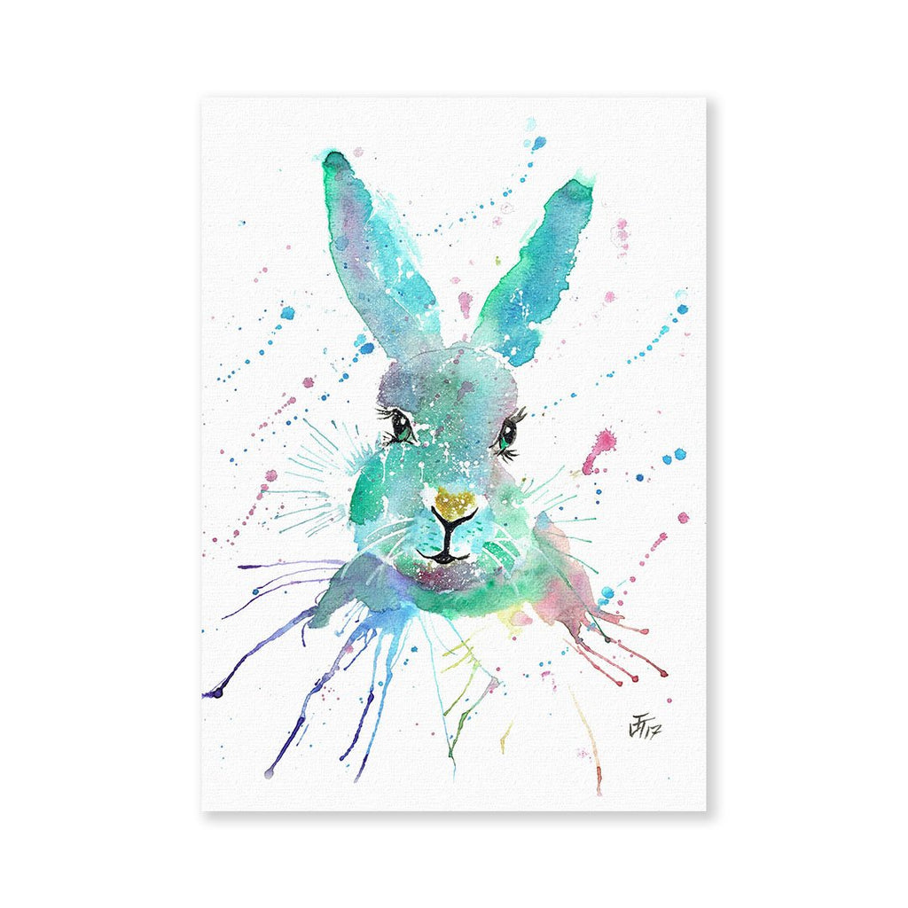 """Minty"" Hare Signed Fine Art Print"