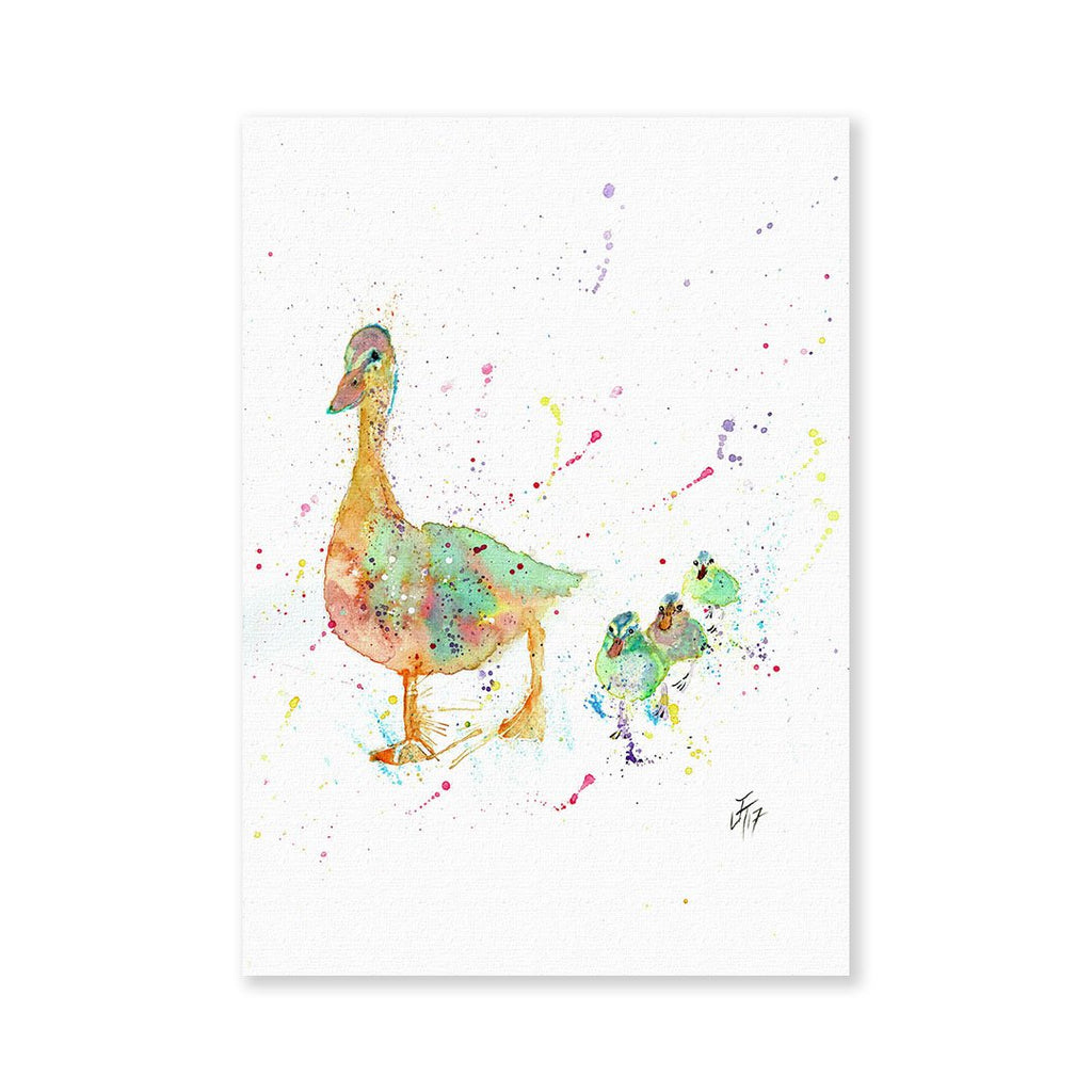 Waddle Signed Fine Art Print