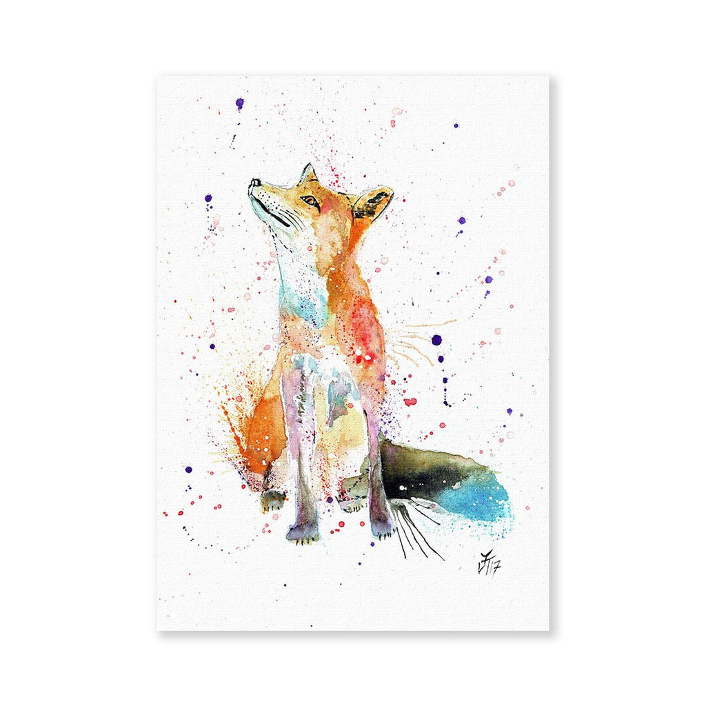 """Wishes"" Fox Signed Fine Art Print"