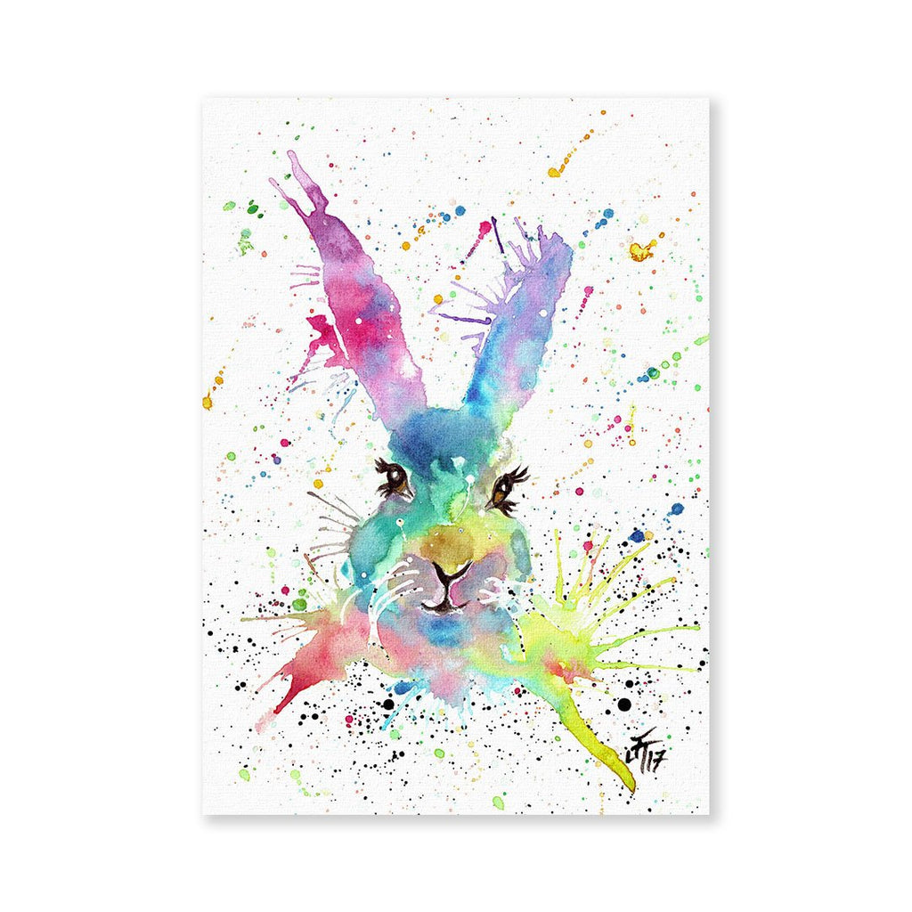 Summer Hare Signed Fine Art Print