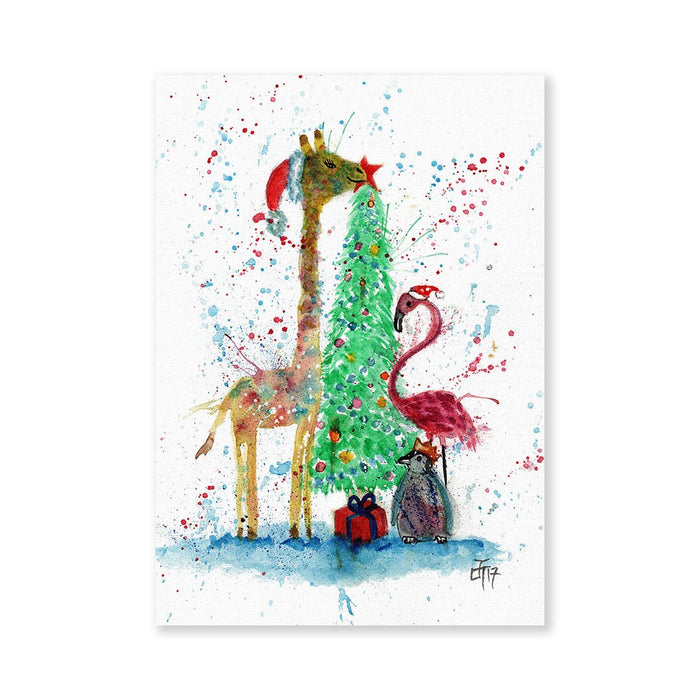 Christmas Pals Signed Fine Art Print