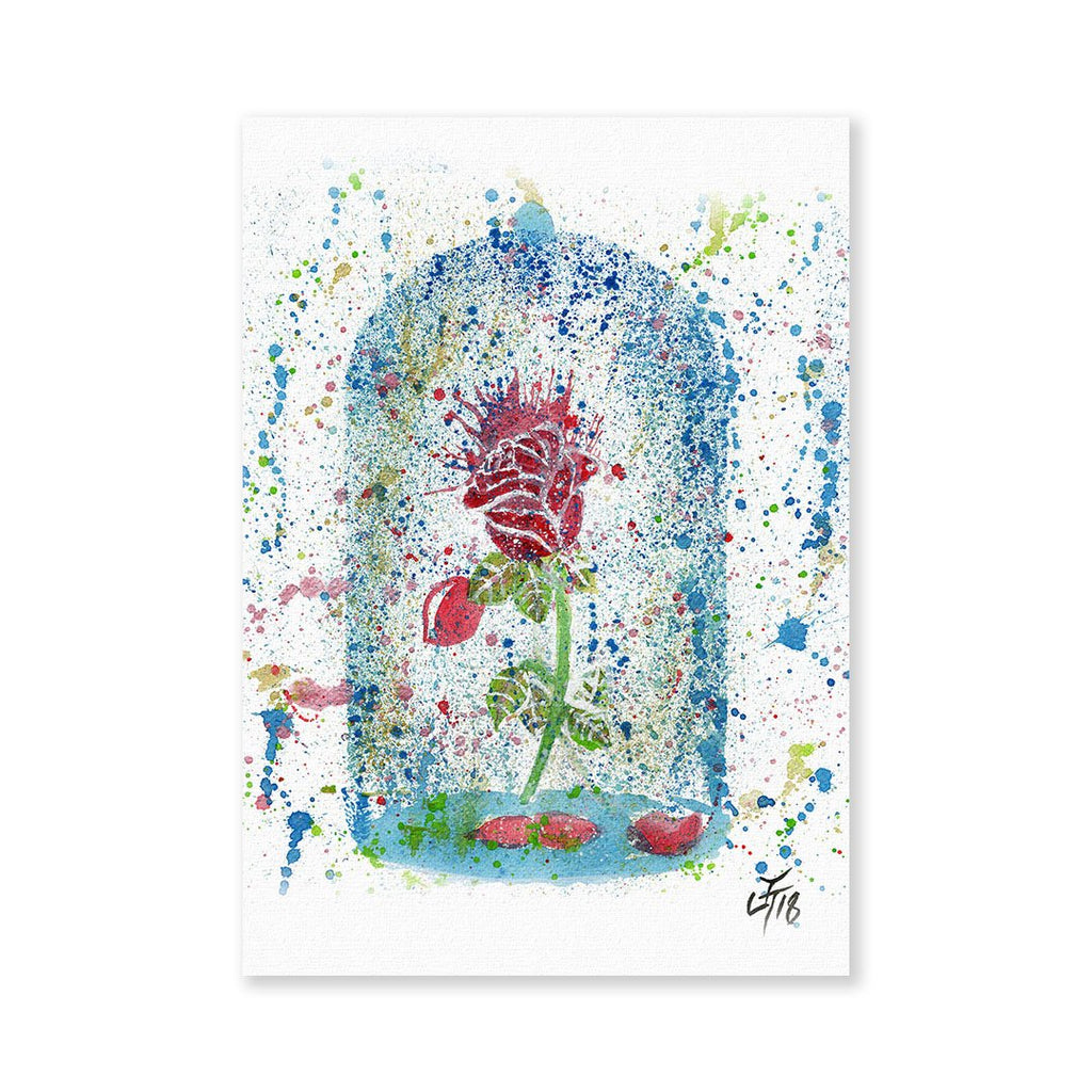 Magic Rose Signed Fine Art Print