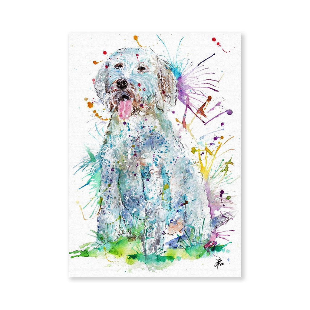 """Wilf"" Cockapoo Signed Fine Art Print"