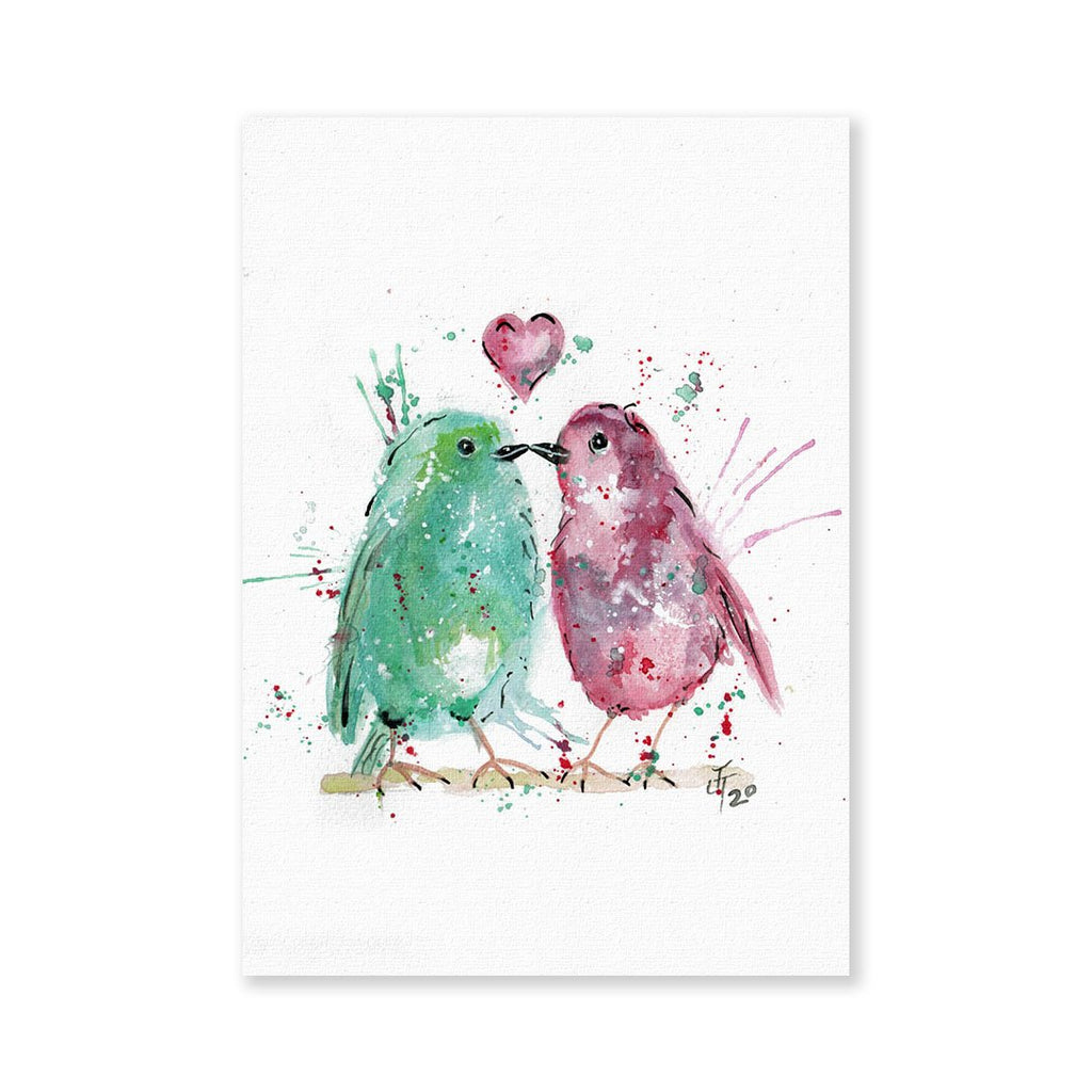 Tweet Heart Signed Fine Art Print