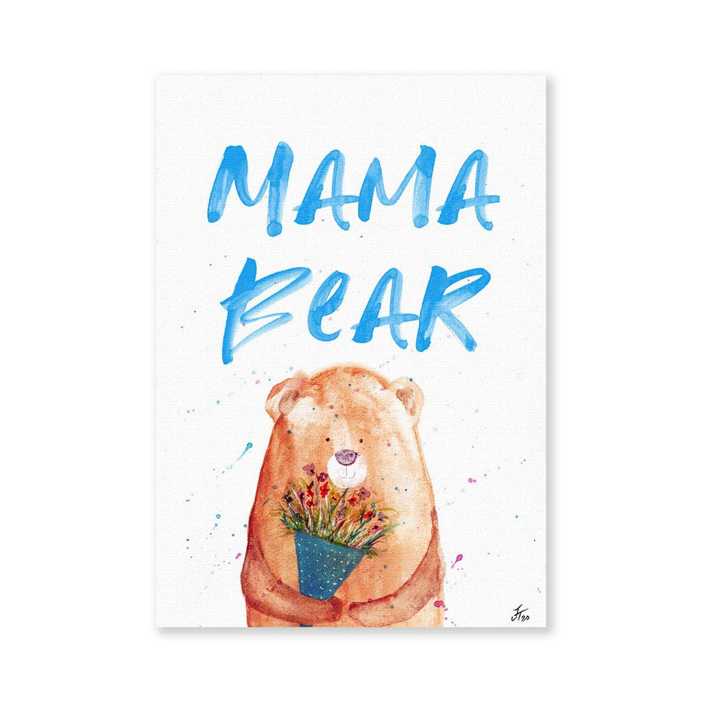 Mama Bear 2020 Signed Fine Art Print