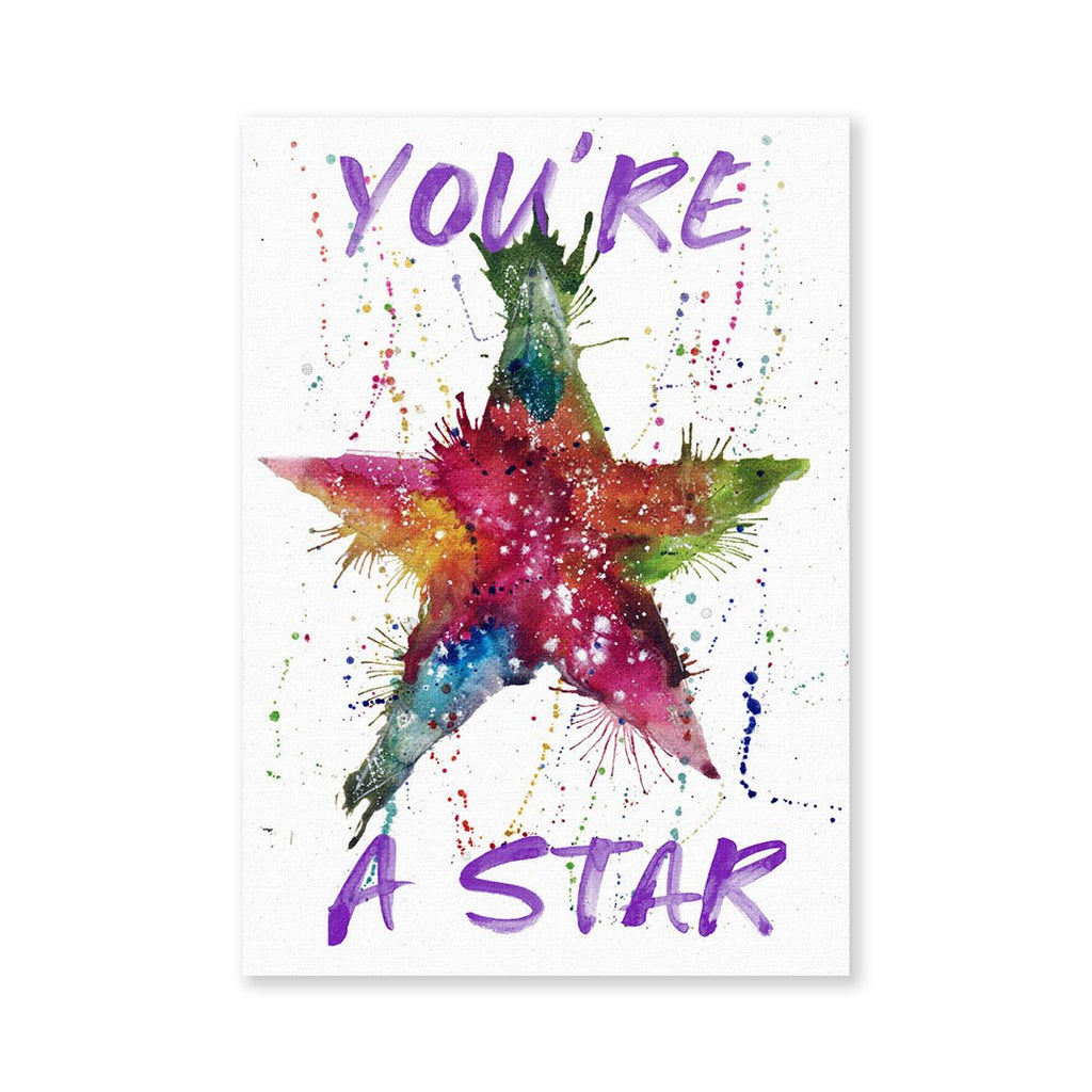 You're A Star! Signed Fine Art Print