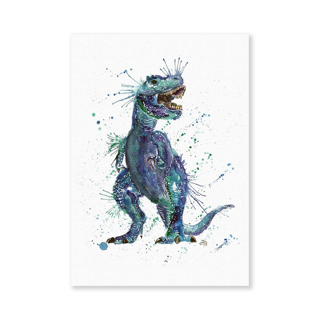 Rex Signed Fine Art Print