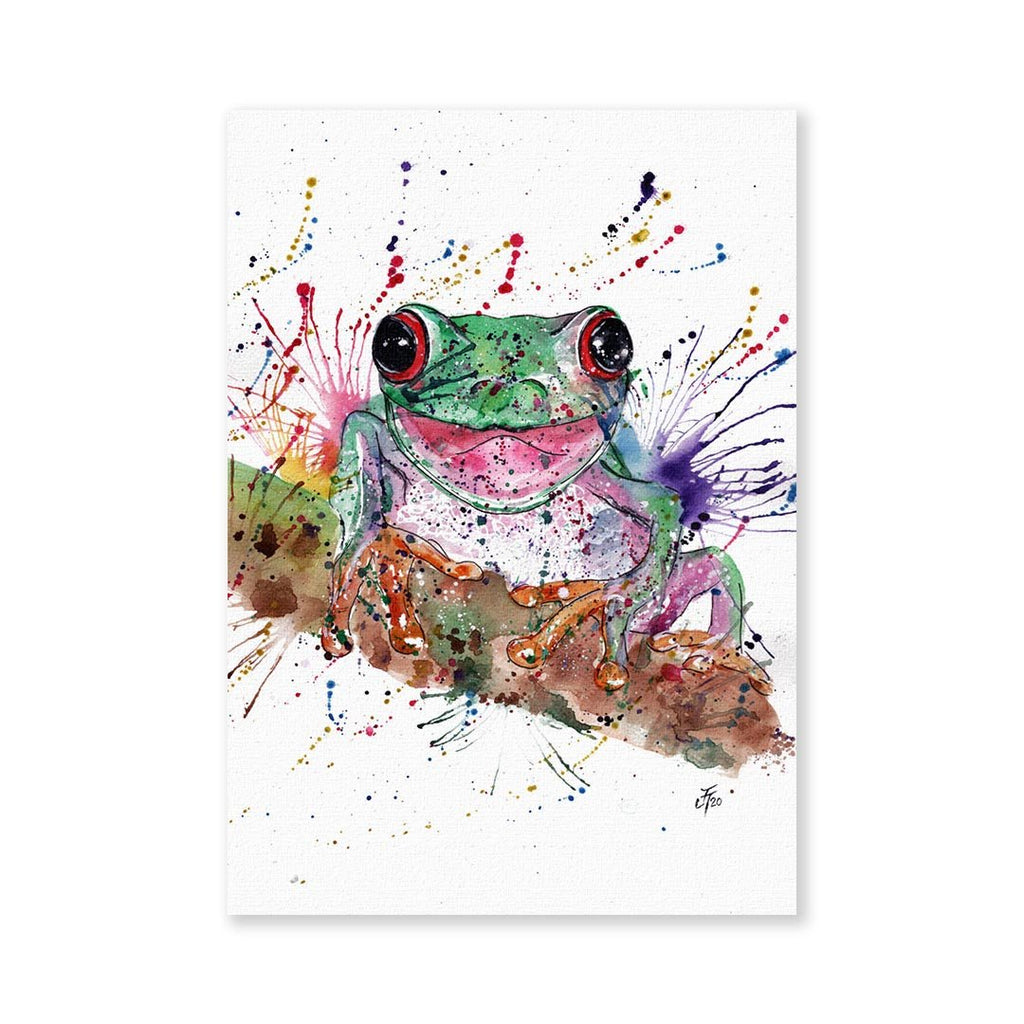 Chris the Frog Signed Fine Art Print