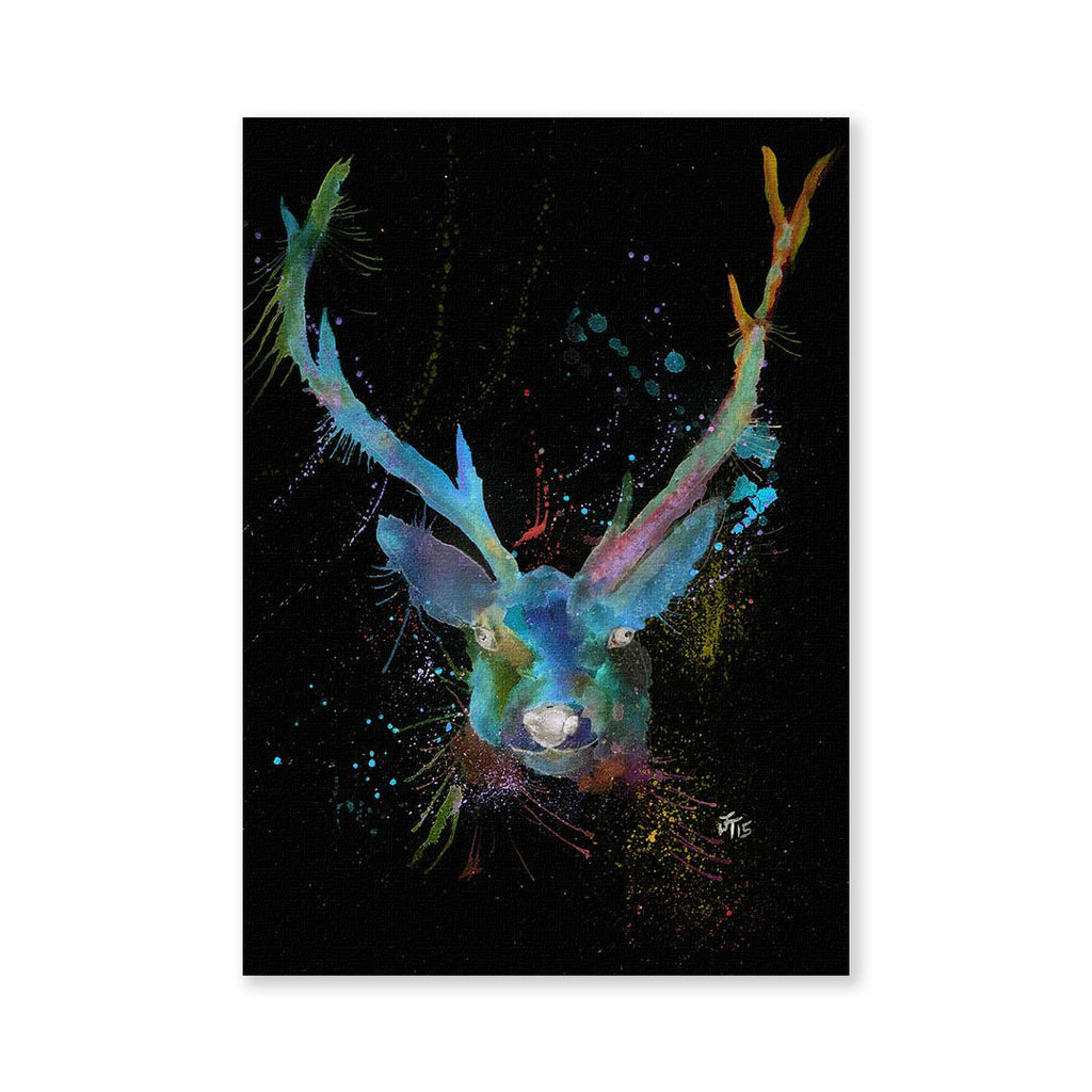 """Bruce"" Stag Enchanted Signed Fine Art Print"