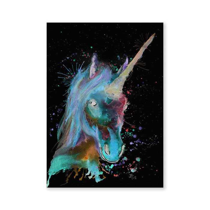 """Marge"" Unicorn Enchanted Signed Fine Art Print"