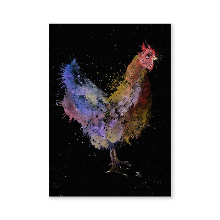 Chickadoo Enchanted Signed Fine Art Print