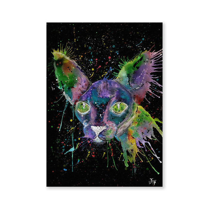 """Brian"" Sphynx Enchanted Signed Fine Art Print"