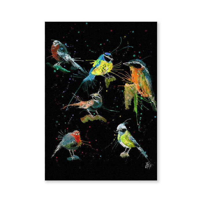 Brit Birds Enchanted Signed Fine Art Print