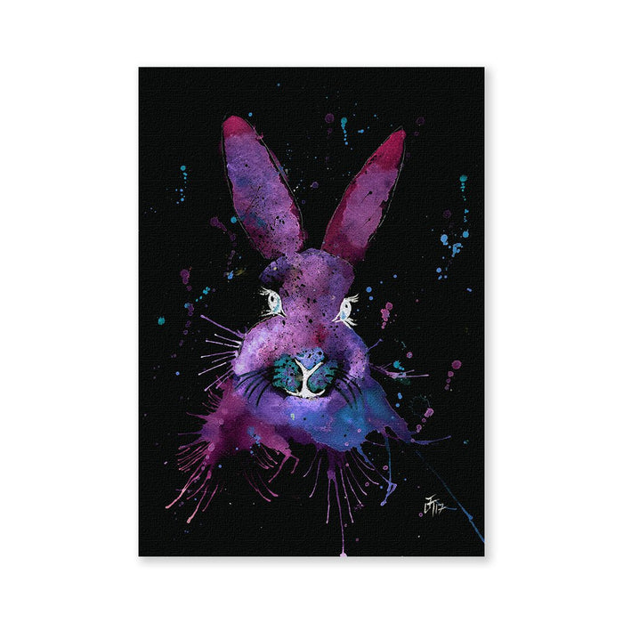 """Berry"" Hare Enchanted Signed Fine Art Print"