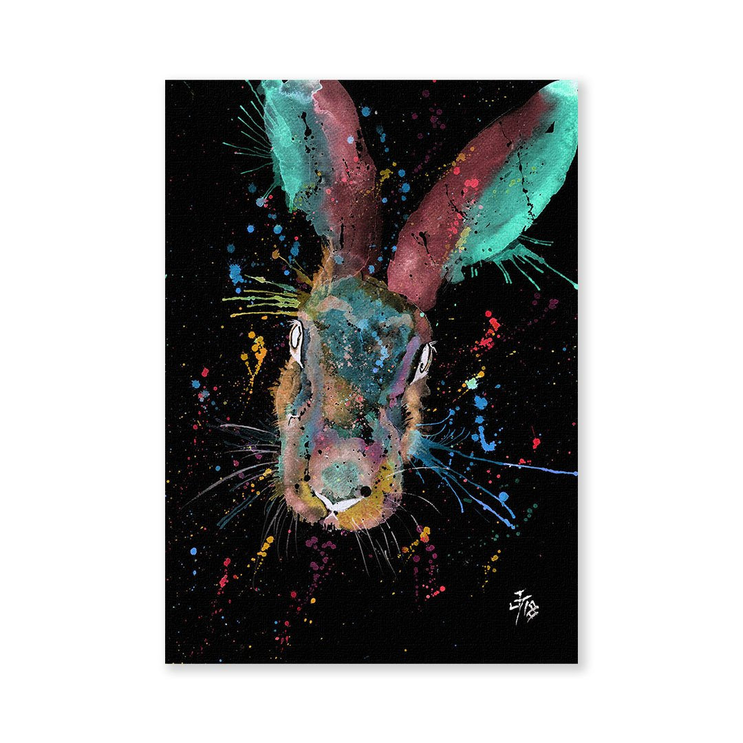 Riddle Hare Enchanted Signed Fine Art Print