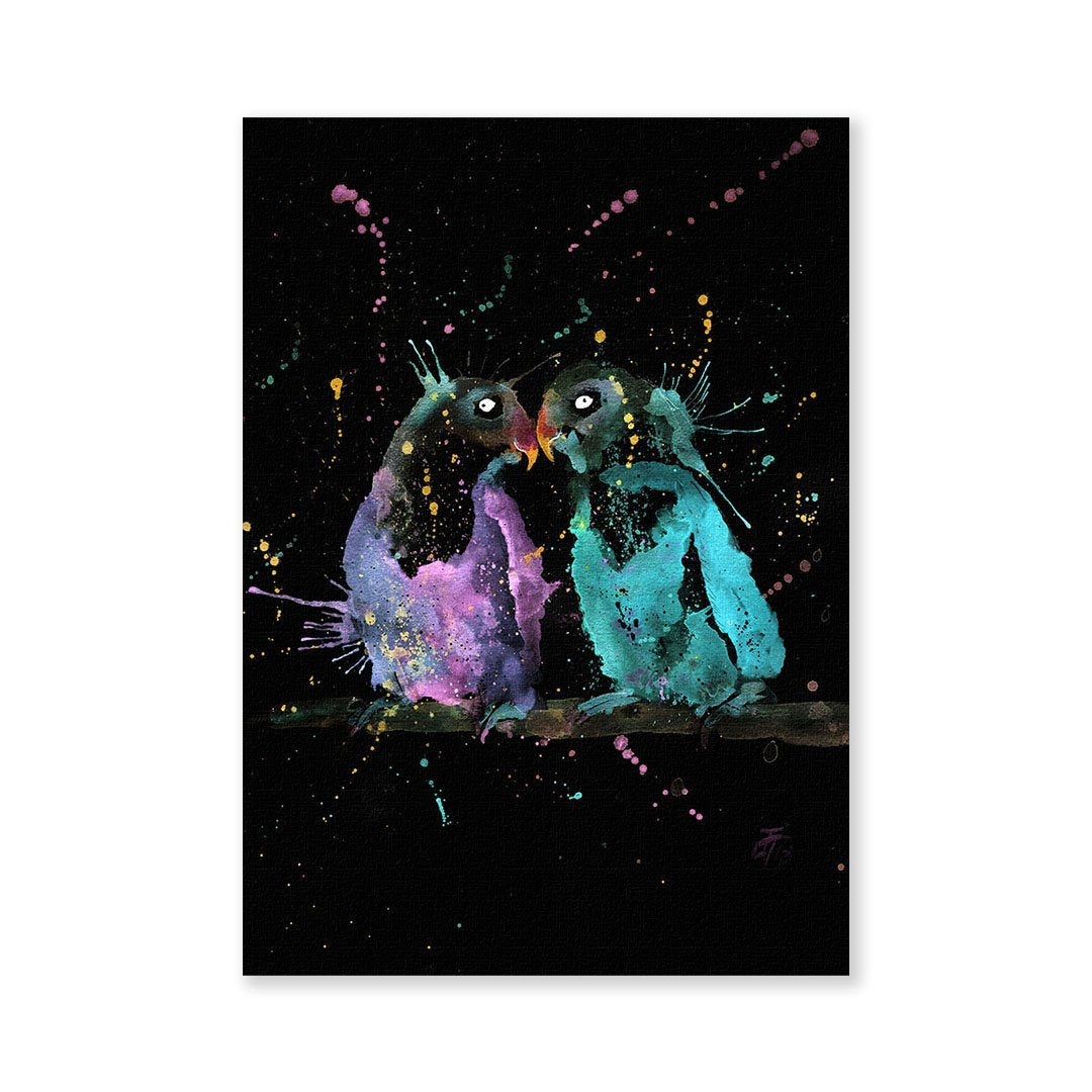 Olive & Cecil Enchanted Signed Fine Art Print