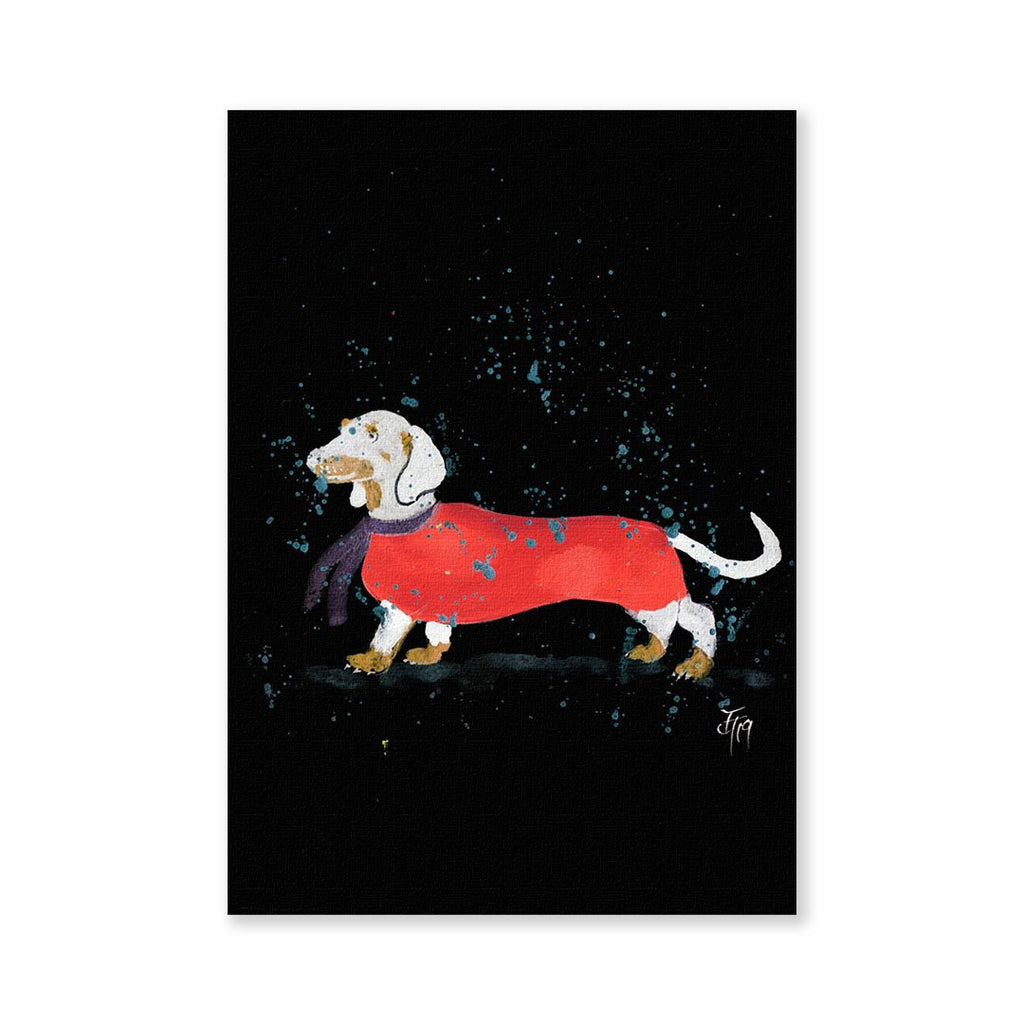 Sausage Roll Enchanted Signed Fine Art Print
