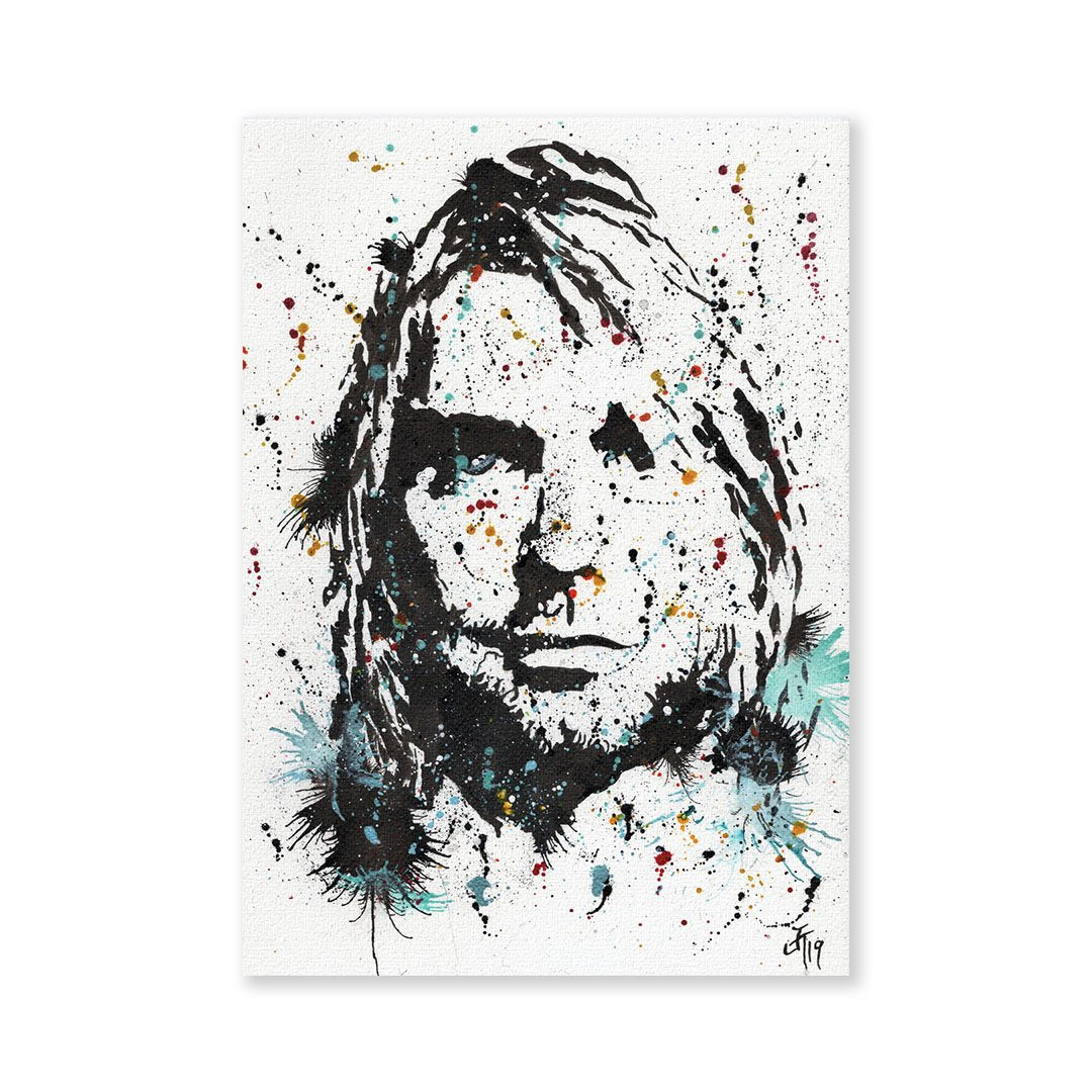 """Kurt"" Signed Fine Art Print"