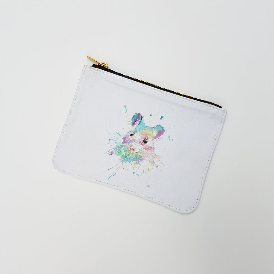 """Small Mouse"" Large Coin Pouch"