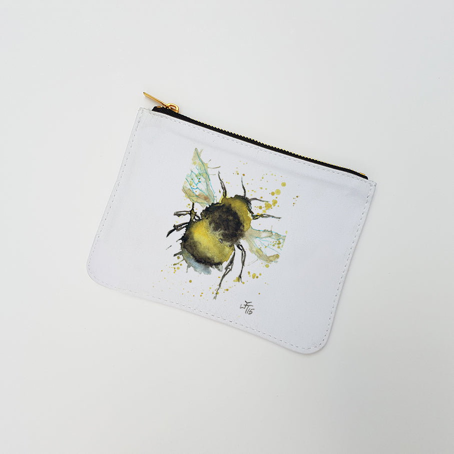 """Bumble Bee"" Large Coin Pouch"