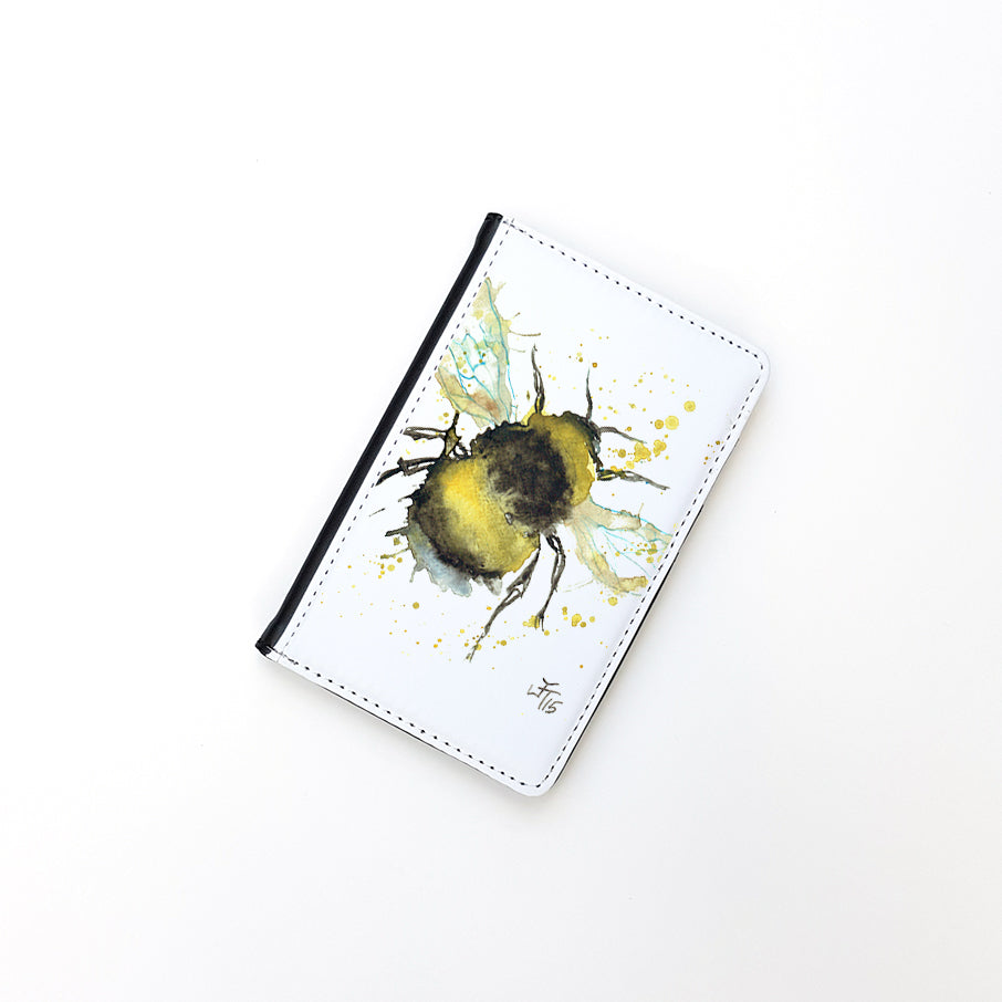 """Bumble Bee"" Passport Holder"