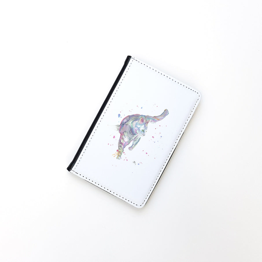 """Rainbow Cat"" Passport Holder"