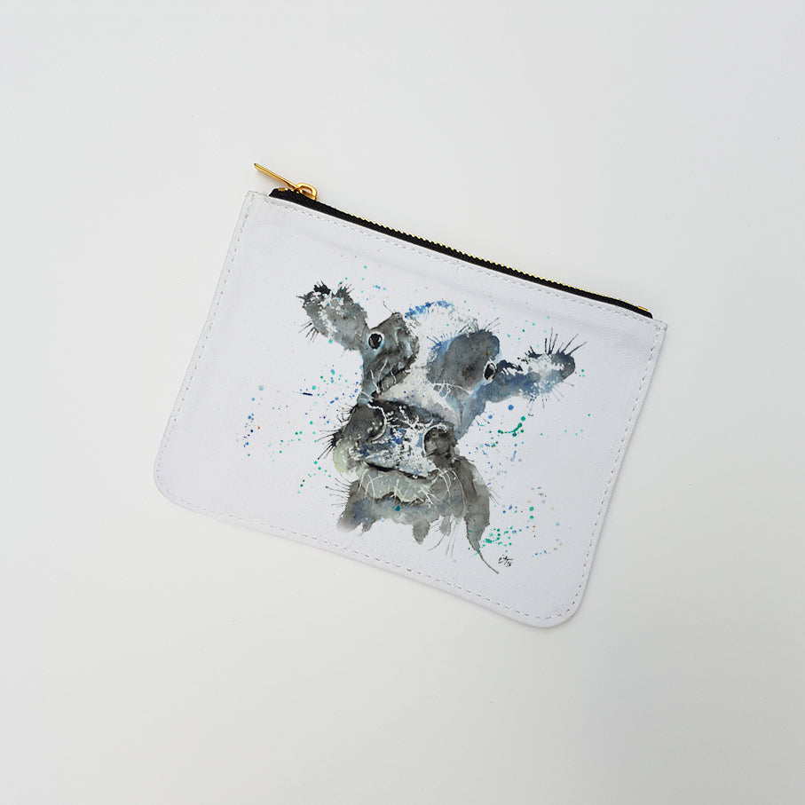 """Moo Cow"" Large Coin Pouch"