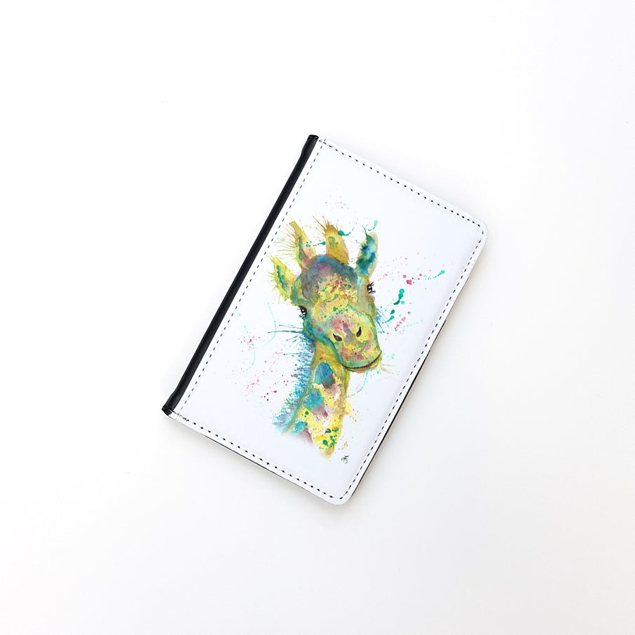 """Hattie Giraffe"" Passport Holder"