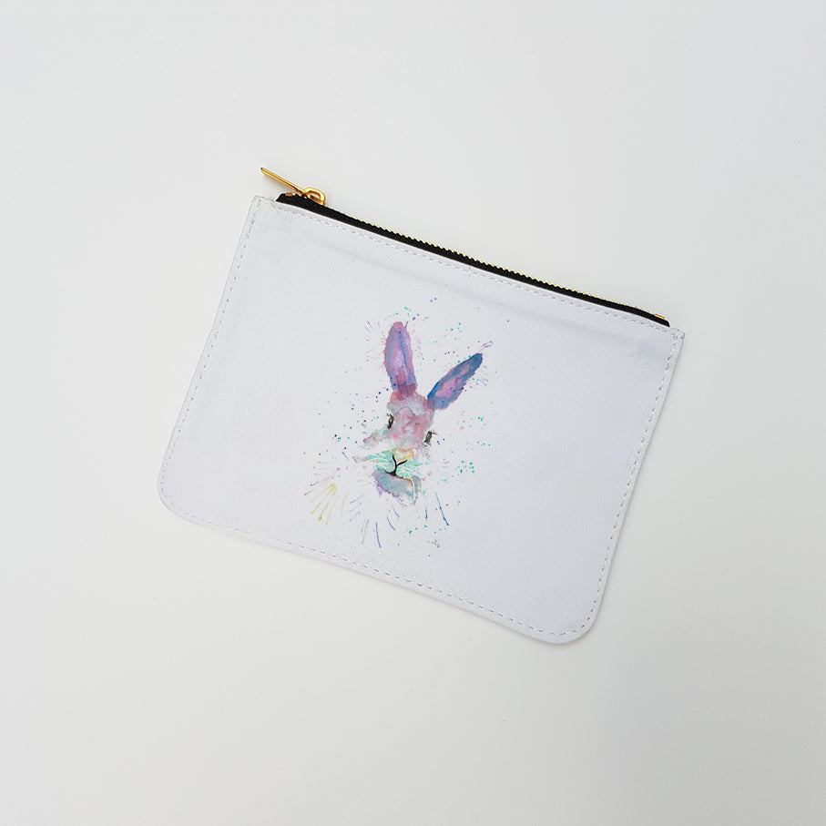 """Mrs Bunny"" Large Coin Pouch"