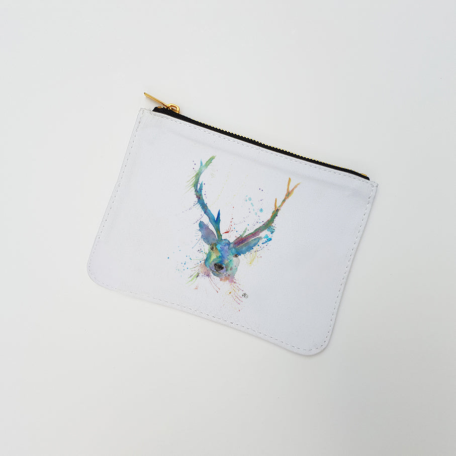 """Bruce Stag"" Large Coin Pouch"