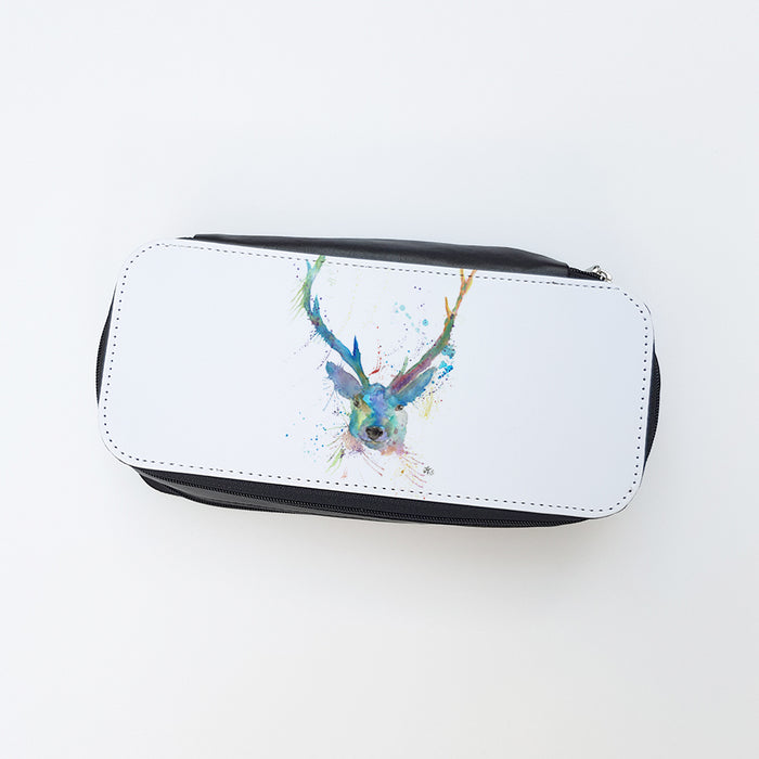 """Bruce Stag"" Ladies Makeup Bag"