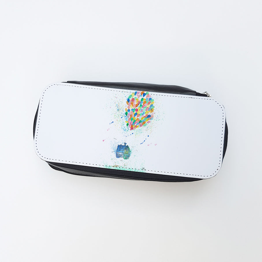 """Balloon House"" Ladies Makeup Bag"