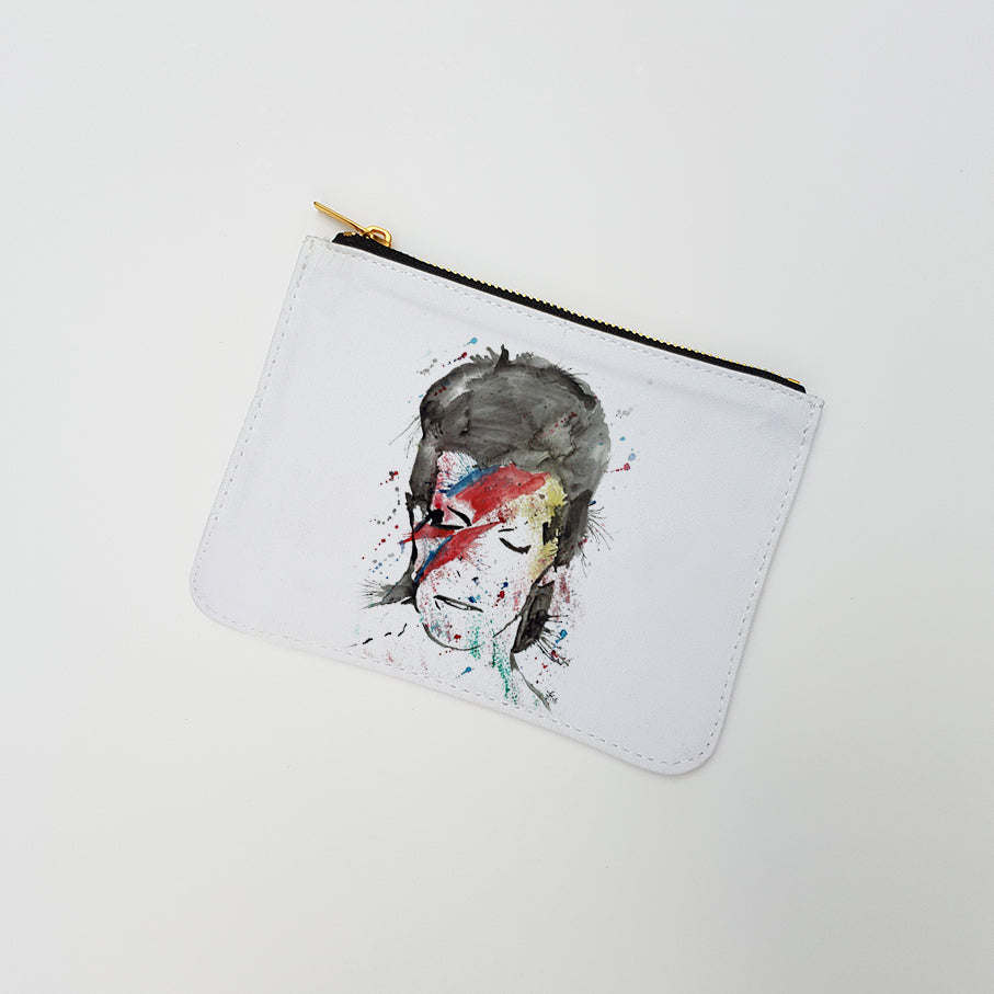 """Starman"" Large Coin Pouch"