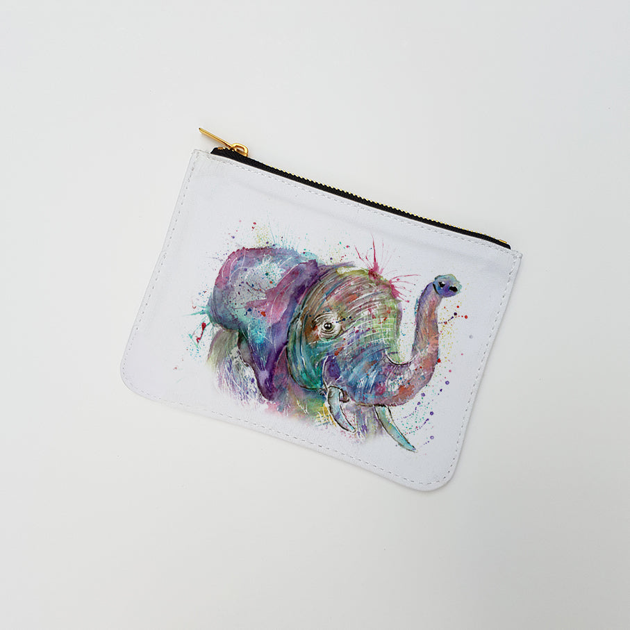 """Ele Elephant"" Large Coin Pouch"
