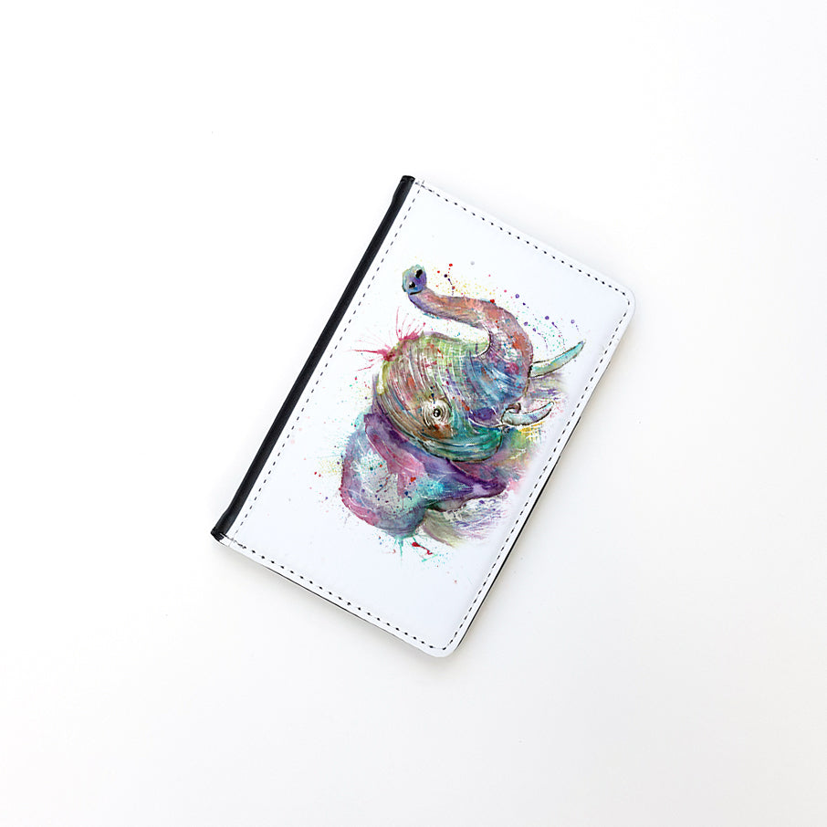 """Ele Elephant"" Passport Holder"