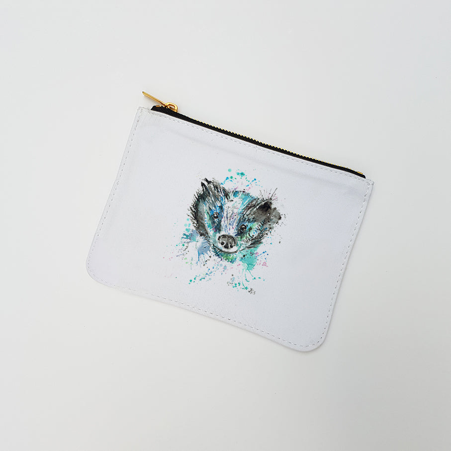 """Baz Badger"" Large Coin Pouch"