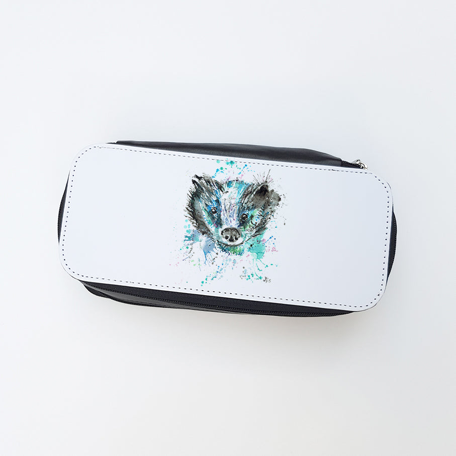 """Baz Badger"" Ladies Makeup Bag"