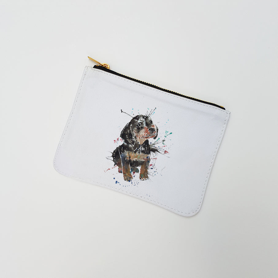 """Pierre Dacshund"" Large Coin Pouch"