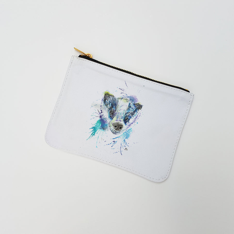"""Badge Badger"" Large Coin Pouch"