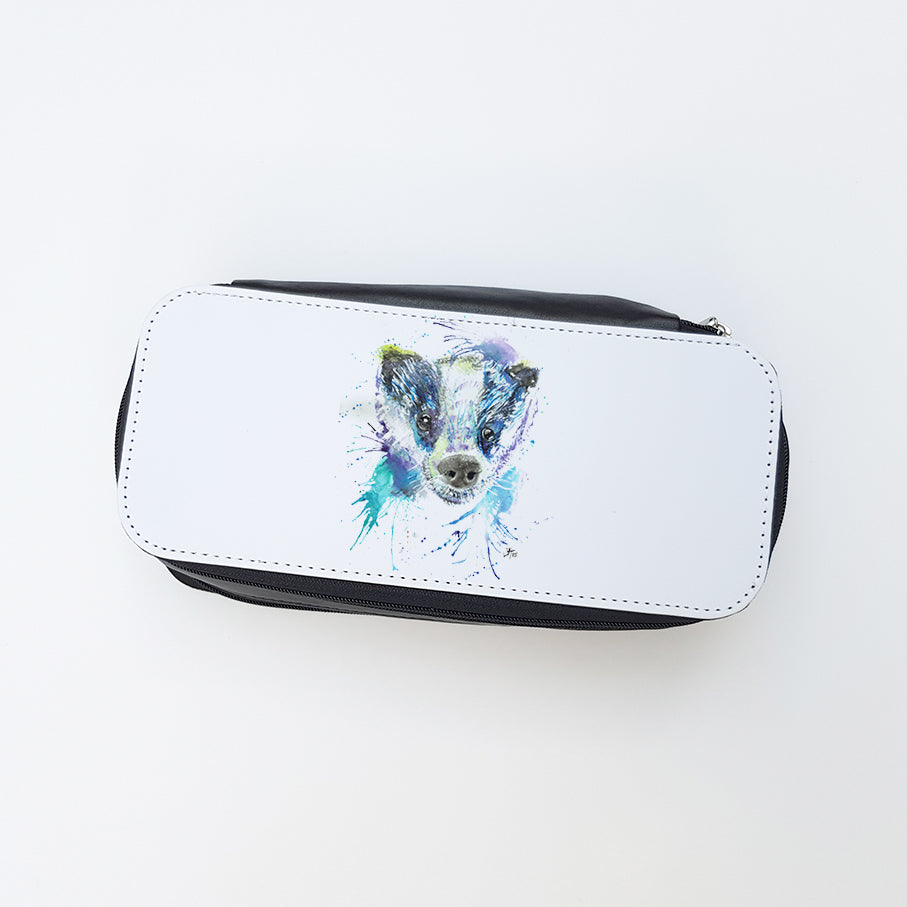 """Badge Badger"" Ladies Makeup Bag"