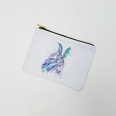"""Faraway Rabbit"" Large Coin Pouch"
