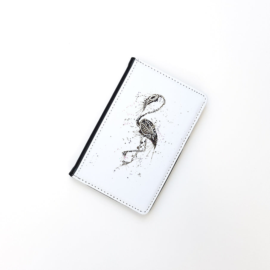 """Bones"" Passport Holder"