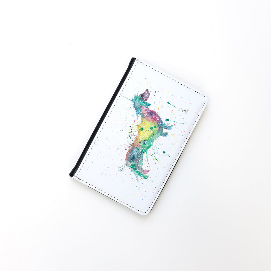 """Mrs Sausage Dog"" Passport Holder"