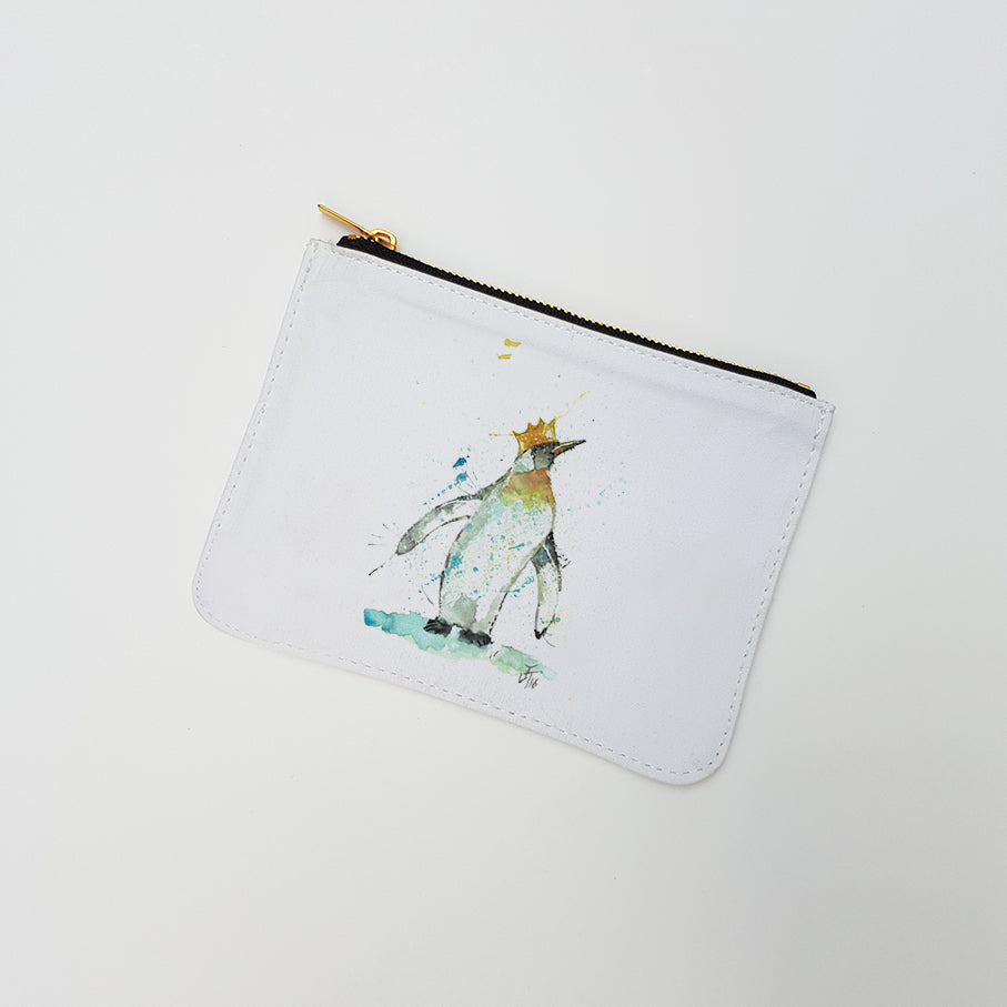 """Party Penguin"" Large Coin Pouch"