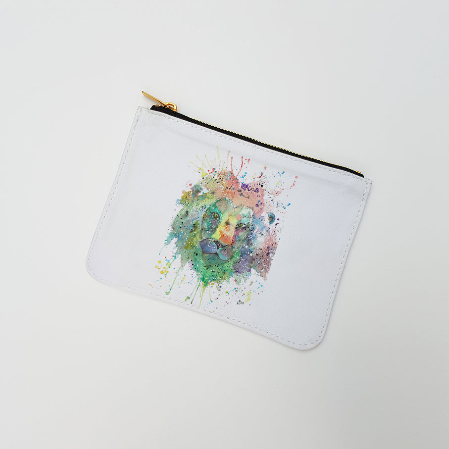 """King Lion"" Large Coin Pouch"