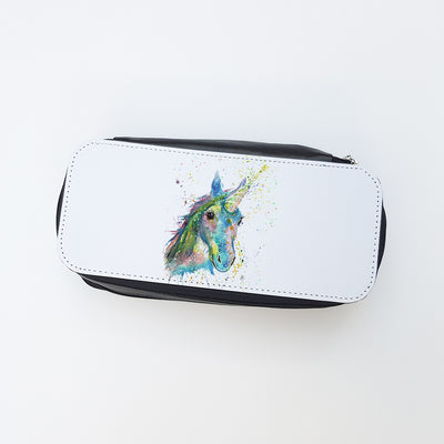 """Patty Unicorn"" Ladies Makeup Bag"