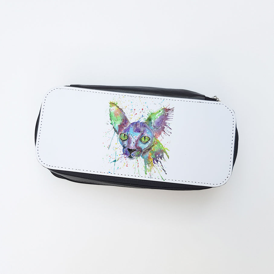"""Brian Sphynx"" Ladies Makeup Bag"