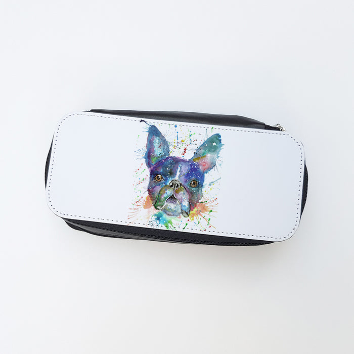 """Bruno Boston Terrier"" Ladies Makeup Bag"