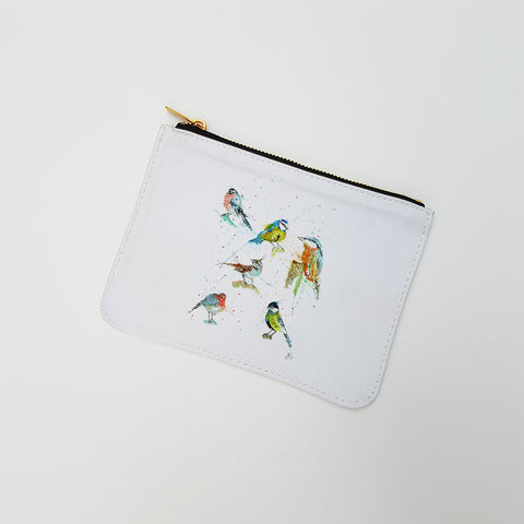 """Brit Birds"" Large Coin Pouch"
